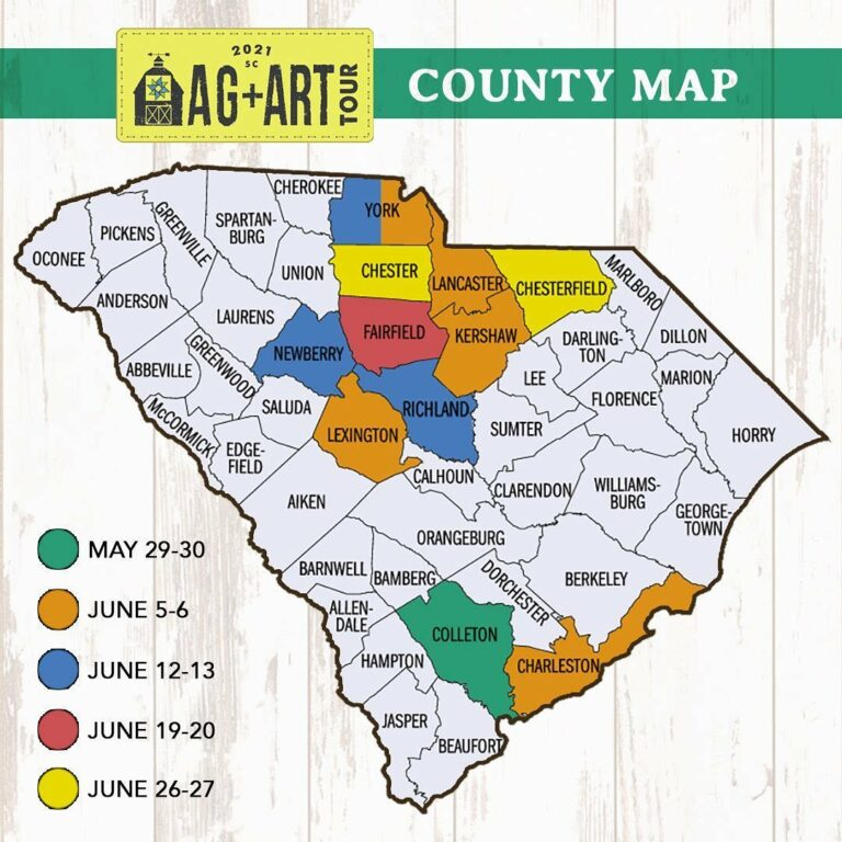 Certified SC Instagram image: Join us for family-friendly fun during the @agandarttour this weekend in West York, Newberry and Richland counties.View the participating locations at clemson.edu/extension/agandarttour