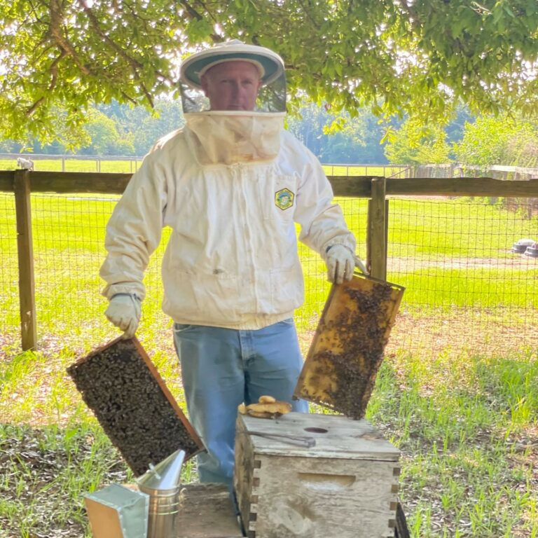 Certified SC Instagram image: There's nothing sweeter than #CertifiedSC honey: Craig Bell, Bell Honey Company (Renbert, South Carolina)